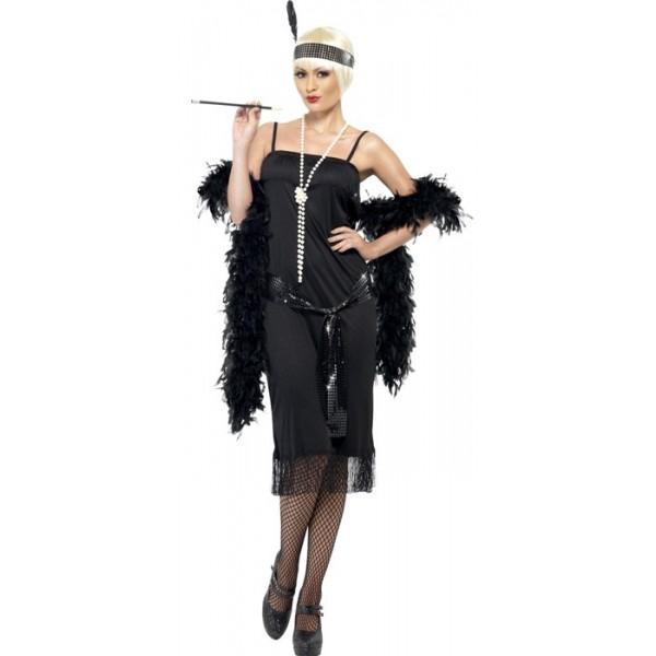 deguisement charleston femme années 30 , BZ174S; costume
