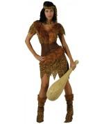deguisement femme de cro-magnon - prehistoire