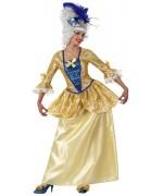 Deguisement marquise luxe pour adulte - costume moyen-âge
