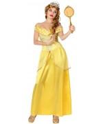 deguisement princesse jaune adulte - contes de fées et dessins animés