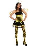 Déguisement abeille femme avec shorty