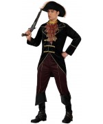 deguisement pirate noir homme - personnage de film - WA270S