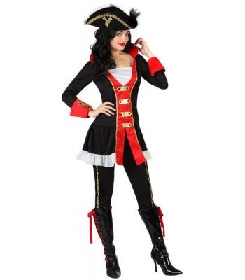 Déguisement pirate femme commodor