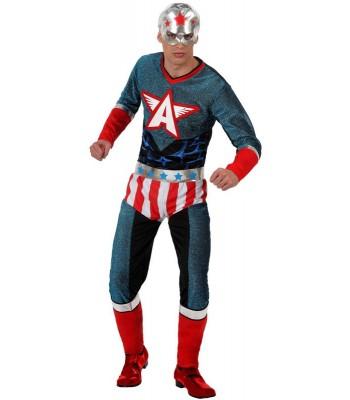 Déguisement capitaine america adulte