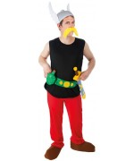 Déguisement Astérix adulte officiel avec casque, moustache et épée - personnage de bande dessinée
