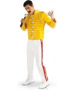 deguisement Freddy Mercury adulte,  le célèbre chanteur du groupe Queen - rock star années 80