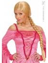 perruque blonde chatelaine - accessoire deguisement falbala