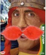 moustache gaulois roux - accessoire deguisement gaulois