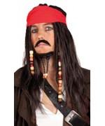 perruque pirate des caraibes - accessoire deguisement - DA124A