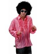 Chemise disco rose pour déguisement disco - la magie du déguisement