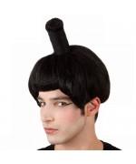 perruque sumo - accessoire deguisement - WA109A
