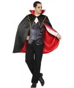 déguisement de vampire pour homme, incarnez Dracula le célèbre comte des vampires pour Halloween