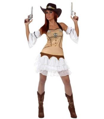 Deguisement femme sherif