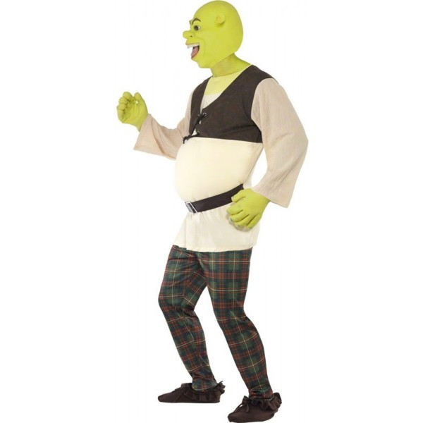 D guisement shrek adulte la magie du deguisement achat - Dessin costume ...