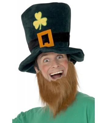 Chapeau St Patrick avec barbe