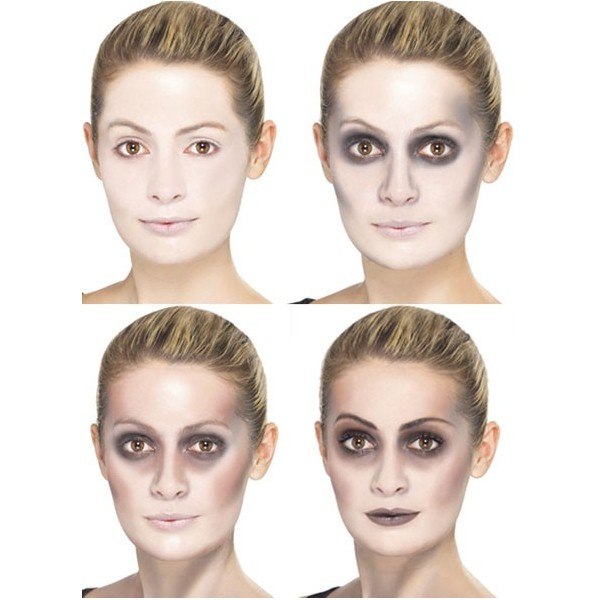 kit maquillage zombie adulte la magie du deguisement. Black Bedroom Furniture Sets. Home Design Ideas