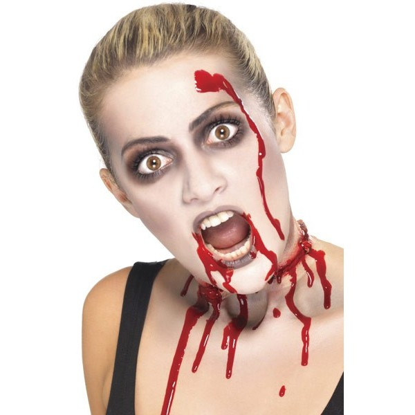 Halloween maquillage zombie - Maquillage facile a faire soi meme ...