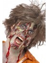 maquillage zombie avec latex - deguisements zombie halloween