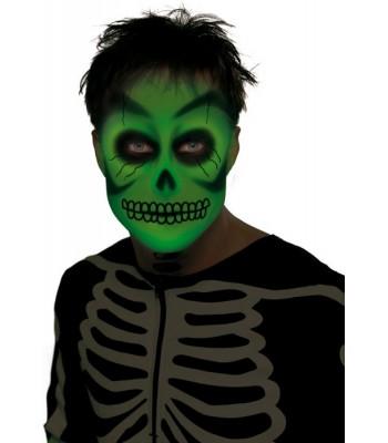 Maquillage phosphorescent visage