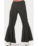 Pantalon disco noir homme - déguisement disco