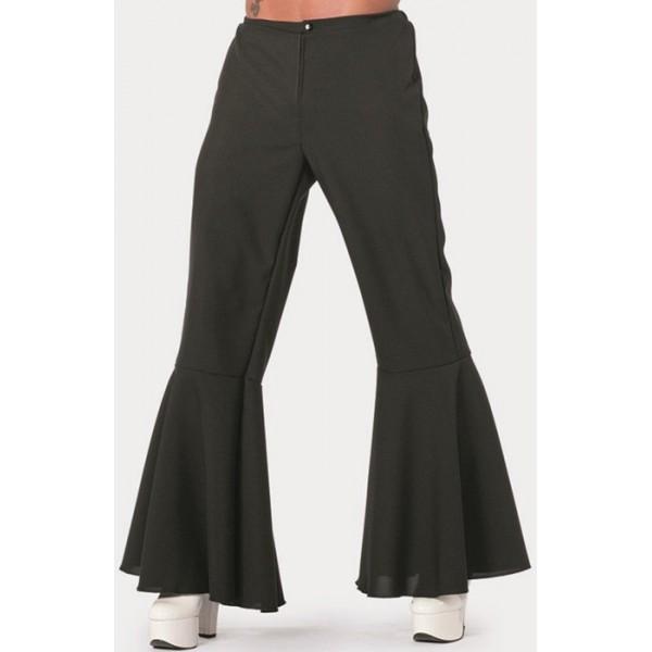 pantalon disco noir homme la magie du d guisement pantalons hippie ann es 70. Black Bedroom Furniture Sets. Home Design Ideas
