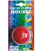 nez de clow en mousse - maquillage