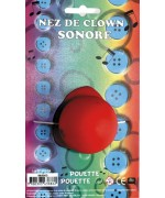 nez clown sonore - accessoire deguisement