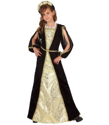 Déguisement princesse medievale enfant