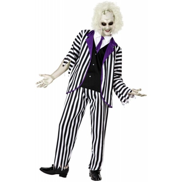 d guisement beetlejuice adulte la magie du deguisement achat vente deguisements halloween. Black Bedroom Furniture Sets. Home Design Ideas