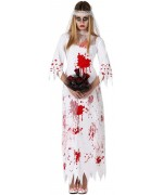deguisement mariée zombie halloween - costume adulte