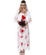 deguisement mariée zombie halloween - costume adulte