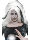 Perruque blanche et grise voyante halloween