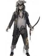 déguisement pirate fantome halloween - BZ114S