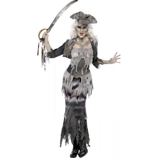 D guisement pirate fantome femme la magie du deguisement - Pirate fantome ...