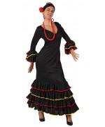 deguisement espagnole flamenco noir - WA286