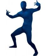 Déguisement Frott'Man bleu - seconde peau bleu - la magie du déguisement