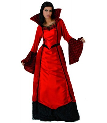 Déguisement vampire diabolique femme