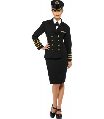 Déguisement marin femme officier