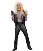 deguisement rock pour adulte, le rockeur des années 80