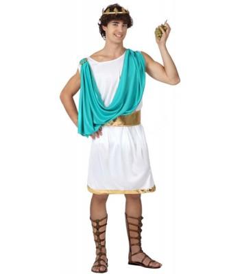 Déguisement romain bleu adulte