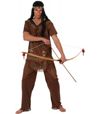 Déguisement guerrier indien homme