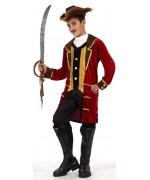 Déguisement capitaine pirate enfant de 5 à 9 ans - WE011S