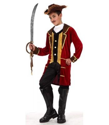 Déguisement capitaine des pirates enfant