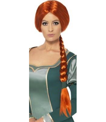 Perruque princesse Fiona Shrek