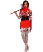 deguisement chaperon rouge halloween, du conte au film d'horreur - WA321S