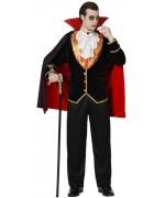 deguisement de vampire adulte, comte Dracula - halloween