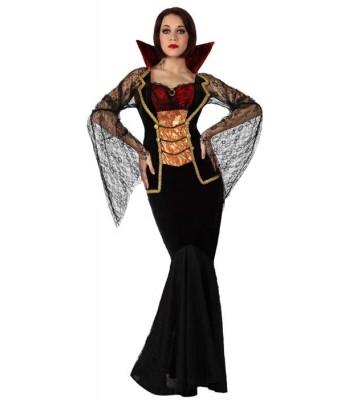 Déguisement vampire élégante femme