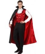 deguisement vampire homme halloween, également disponible en taille XL et XXL