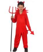 deguisement de diable pour enfant - costume halloween de 3 à 12 ans