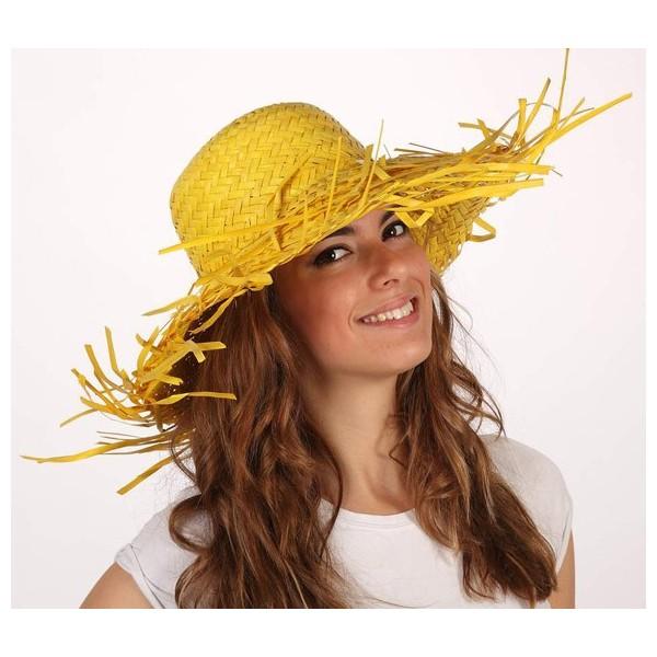 chapeau feuille de palmier 3 couleurs la magie du deguisement. Black Bedroom Furniture Sets. Home Design Ideas
